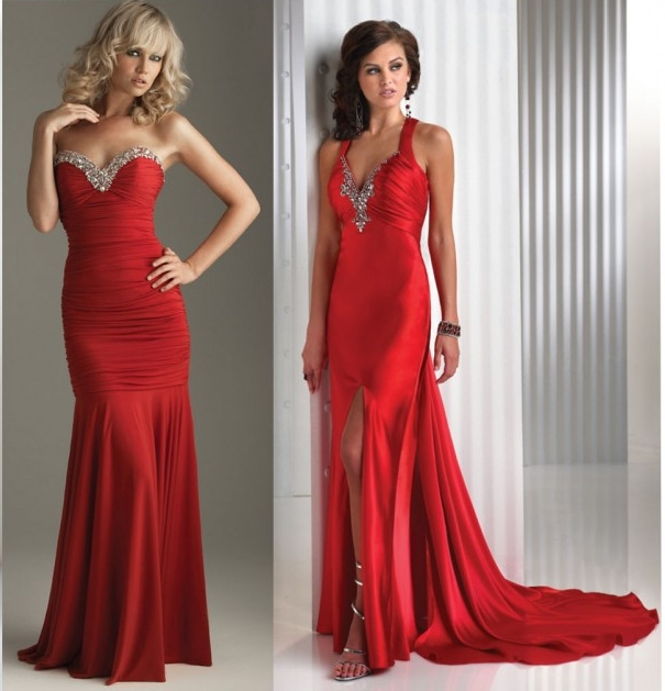 Guyz Fashion: Perfect Valentine's Day Red Dresses 2012