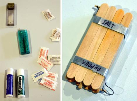 Artículos construidos por presos en las cárceles