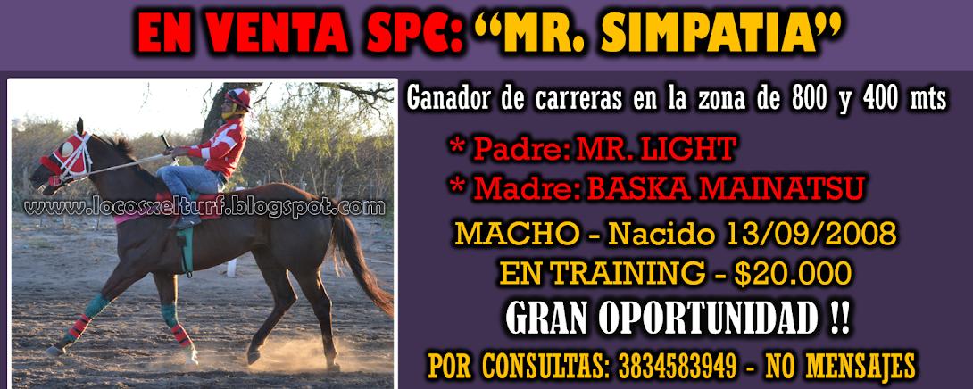 MR. SIMPATIA