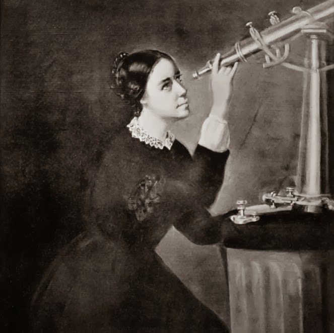 "American astronomer Maria Mitchell discovered ""Miss Mitchell's Comet"" in 1847 using a telescope."