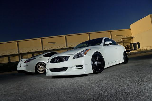 Nissan 350Z & Infiniti G37 Coupe japoński sportowy samochód coupe skyline cv36 RWD V6 tuning