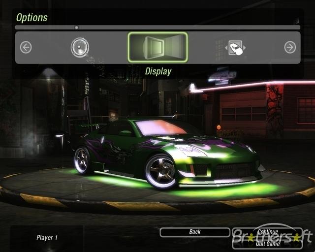 Screen Walpaper Need For Speed Underground 2