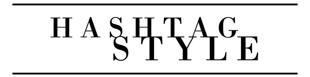 hashtag style