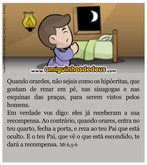 quaresma oração desenho