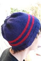 bonnet simple à tricoter