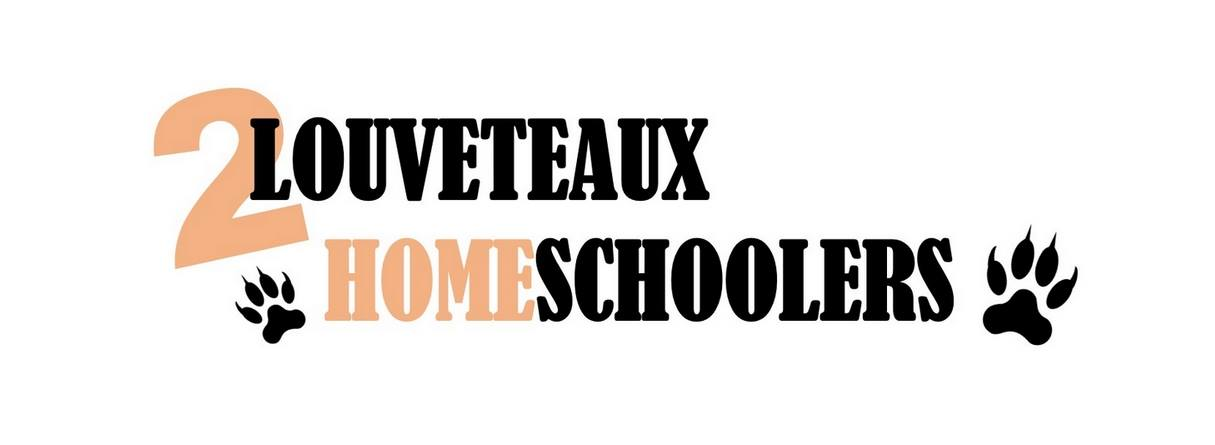 2 louveteaux homeschoolers