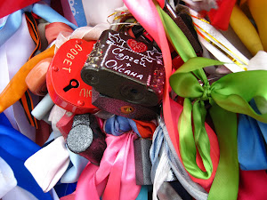 Wedding Traditions: Locks and Ribbons