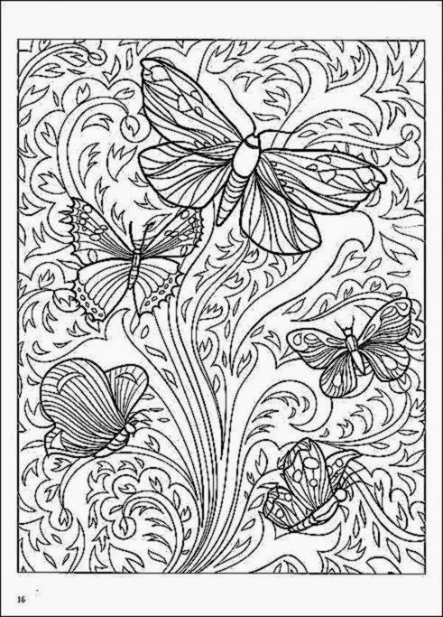 Adult Pattern Coloring Pages Printable - Colorings.net