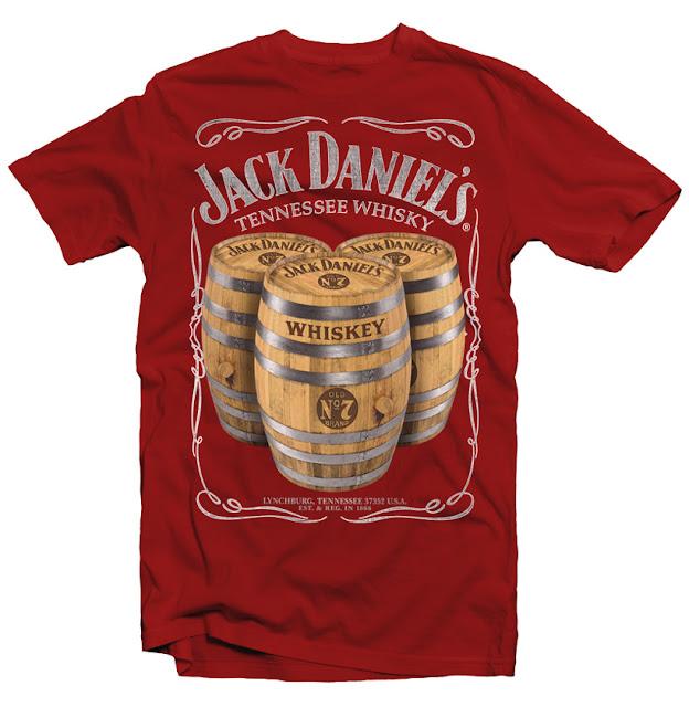 jack daniels tshirt design