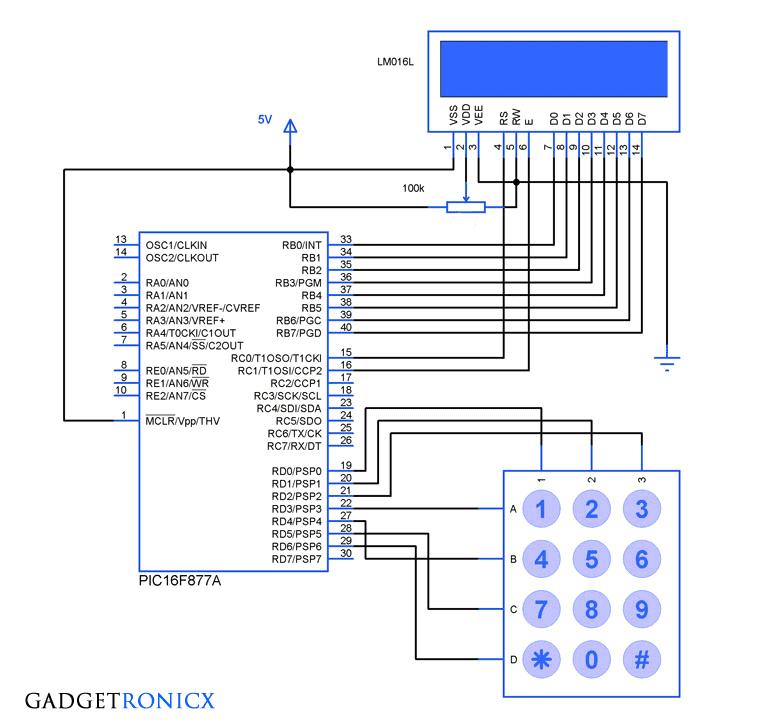 PIC-microcontroller-tutorial-keypad-16x2-lcd-interface