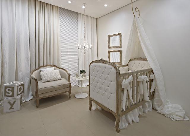 casa+cor+quarto+bb+persiana Luxury baby room Era Uma Casa