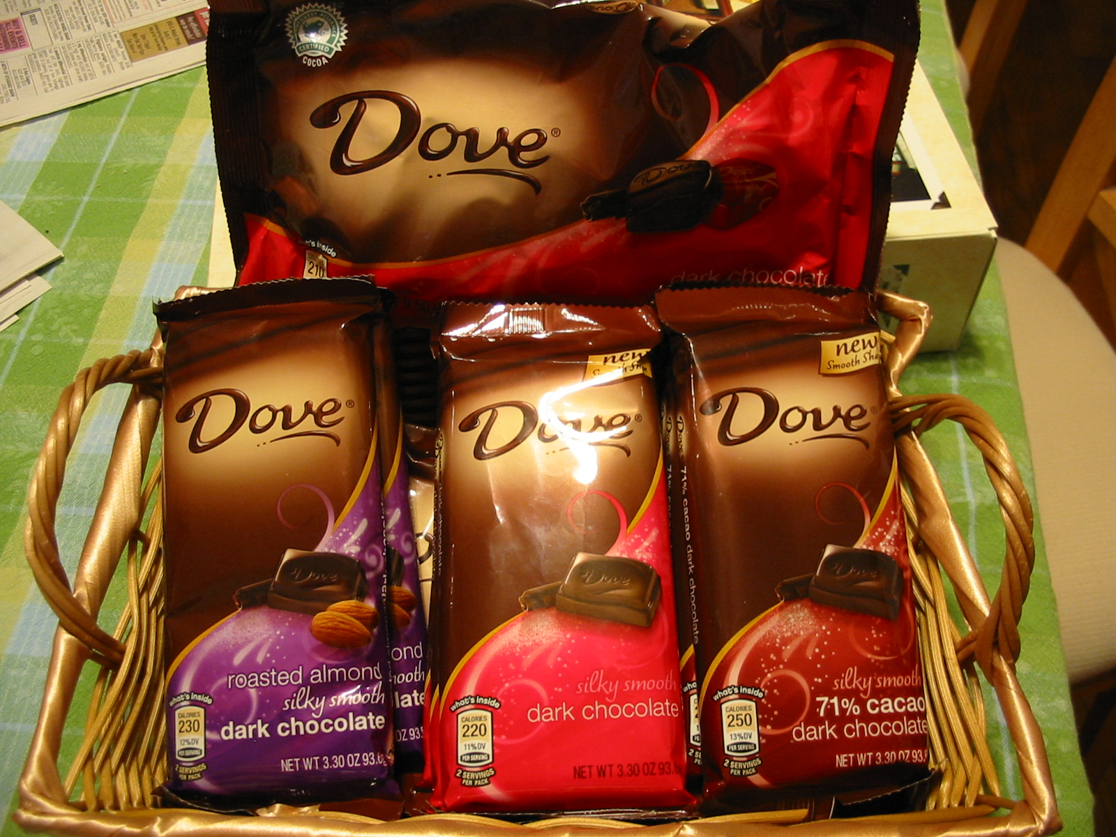 The Chocolate Cult: DOVE Dark Chocolate Promises Revealed
