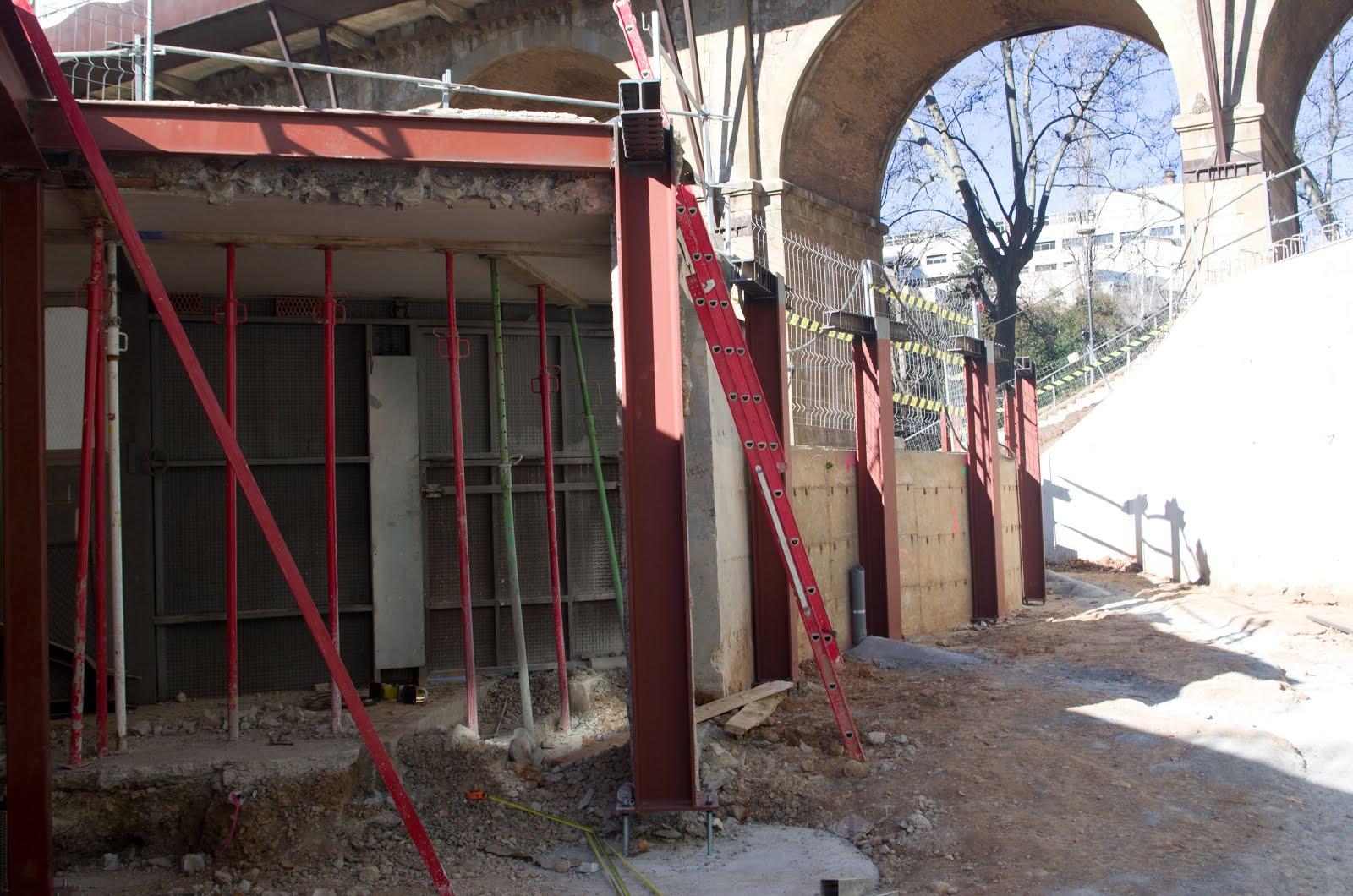 Ampliació dels magatzems de Vallparadís. 14-GEN-2017. Ildefons Argemí.