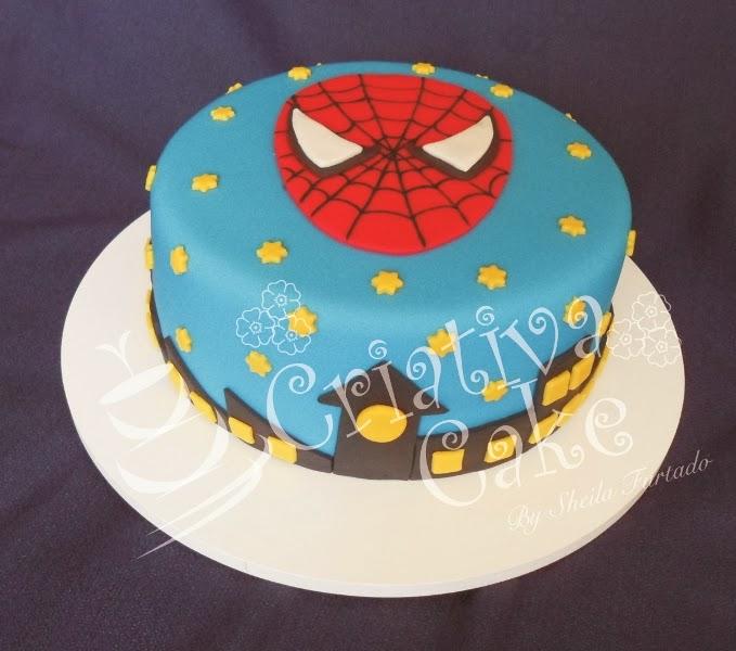 Criativa cake bolo homem aranha 1 bolo homem aranha 1 altavistaventures Image collections