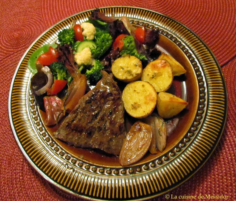 La Cuisine De Messidor Bavette à Léchalote De Puce Testée Par - Cuisine testée