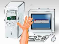 Máy tính restart liên tục và cách khắc phục