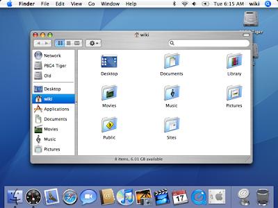 Mac OS Tiger