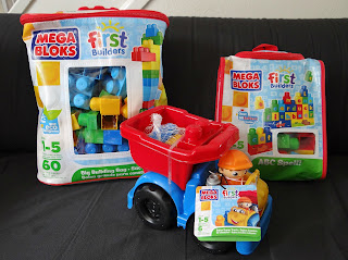 Mega Bloks First Builders, construction bricks, construction toys