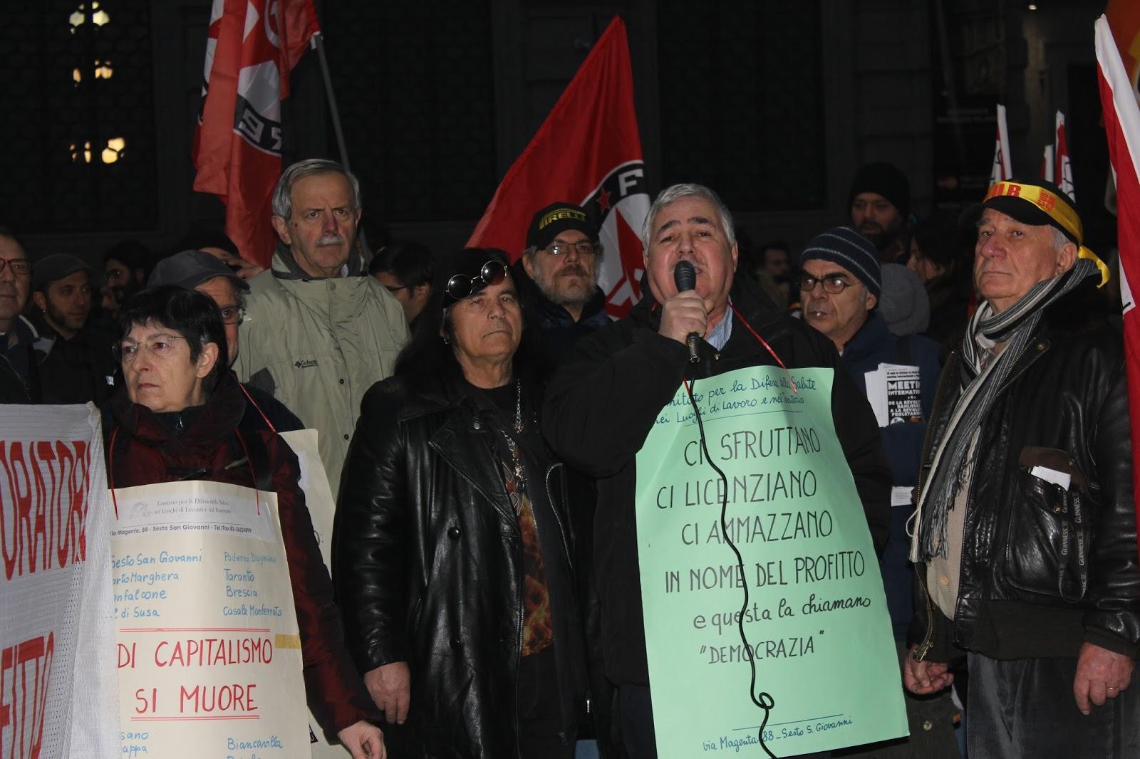 manifestazione 7 dicembre milano