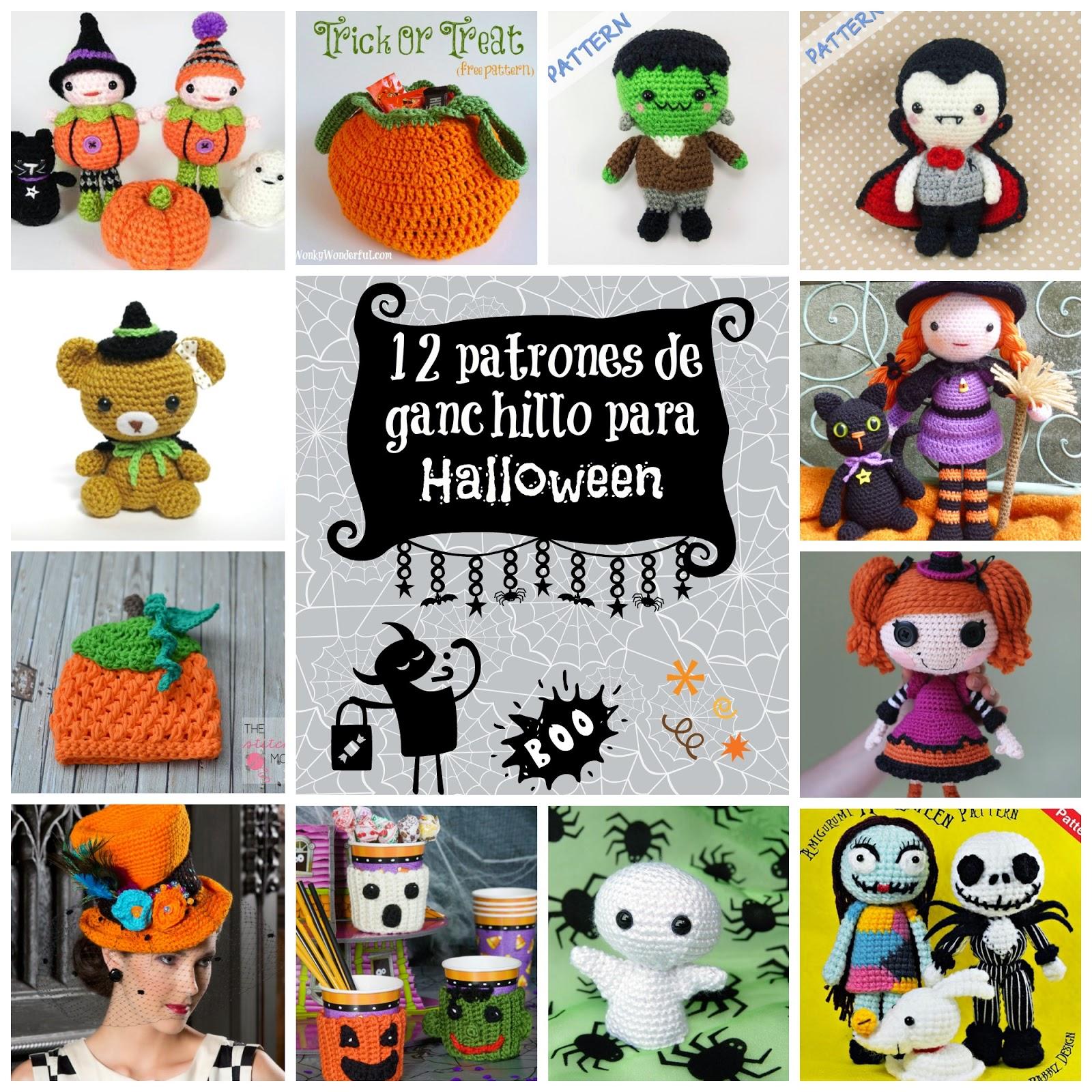 Amigurumi Halloween Patrones : Happy Ganchillo : Patrones de ganchillo y amigurumi para ...