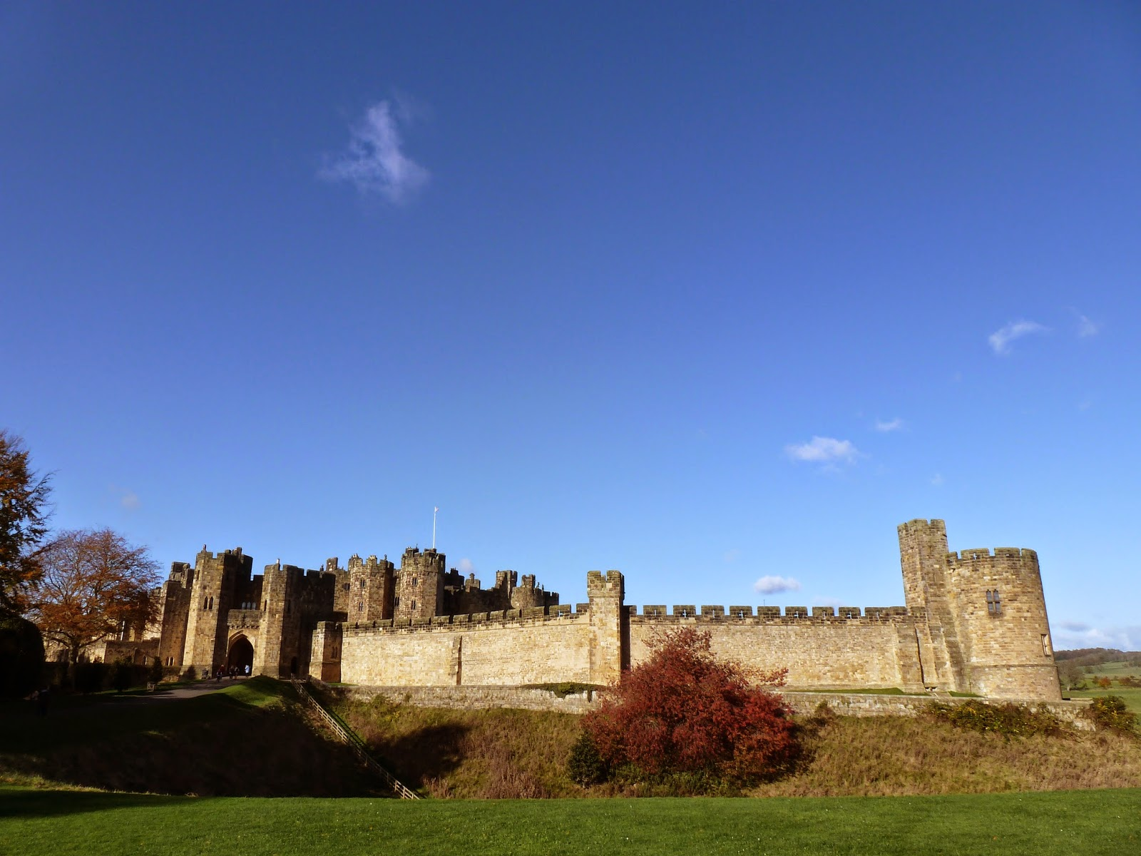 what kateem did next alnwick castle or should that be