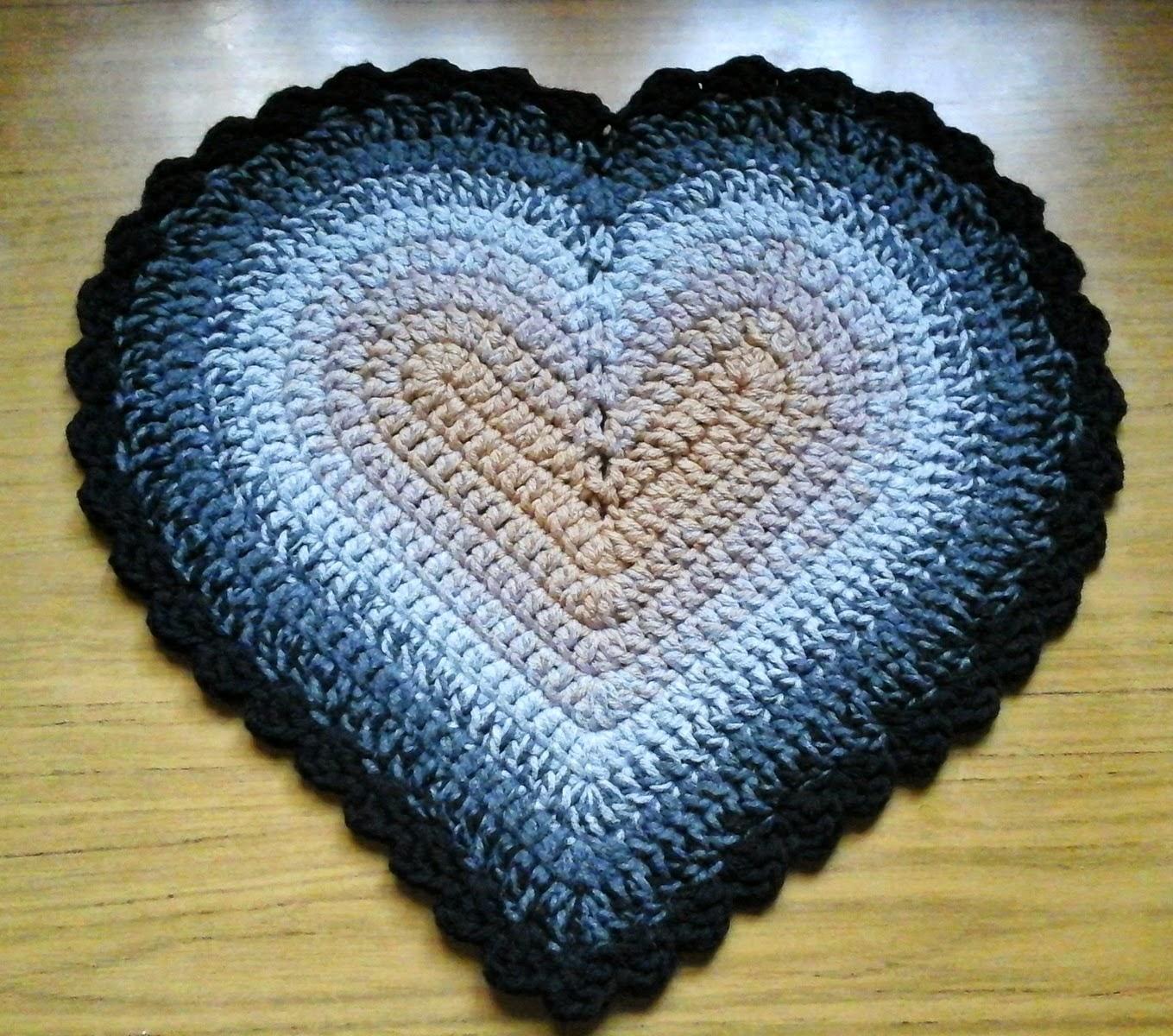 Alfombrita corazón