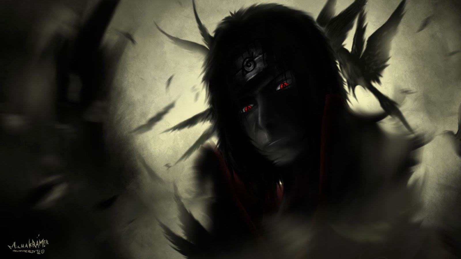 Itachi Sharingan Eyes Picture 0a Wallpaper HD