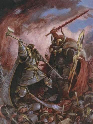 Portada de La Tomenta del Caos (Stom of Chaos)