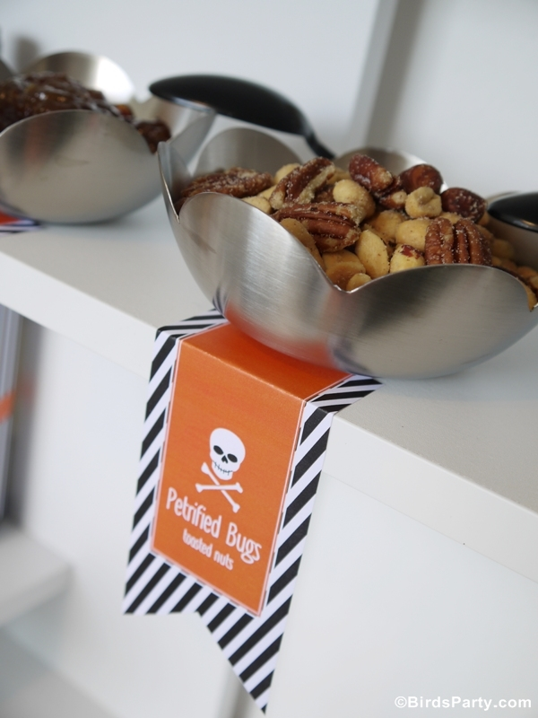 Tricks & Treats: Easy and Quick Halloween Party Ideas & Printables