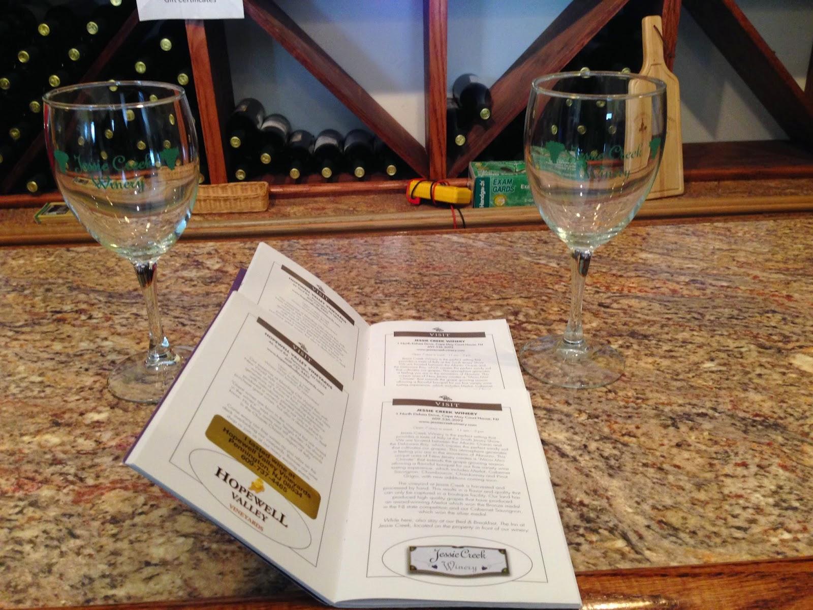 cape may wine trail - Jessie Creek Winery