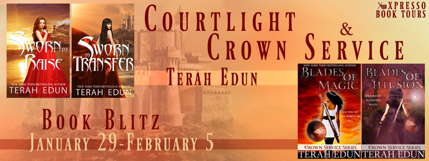 Book Blitz: Courtlight and Crown Service by Terah Edun