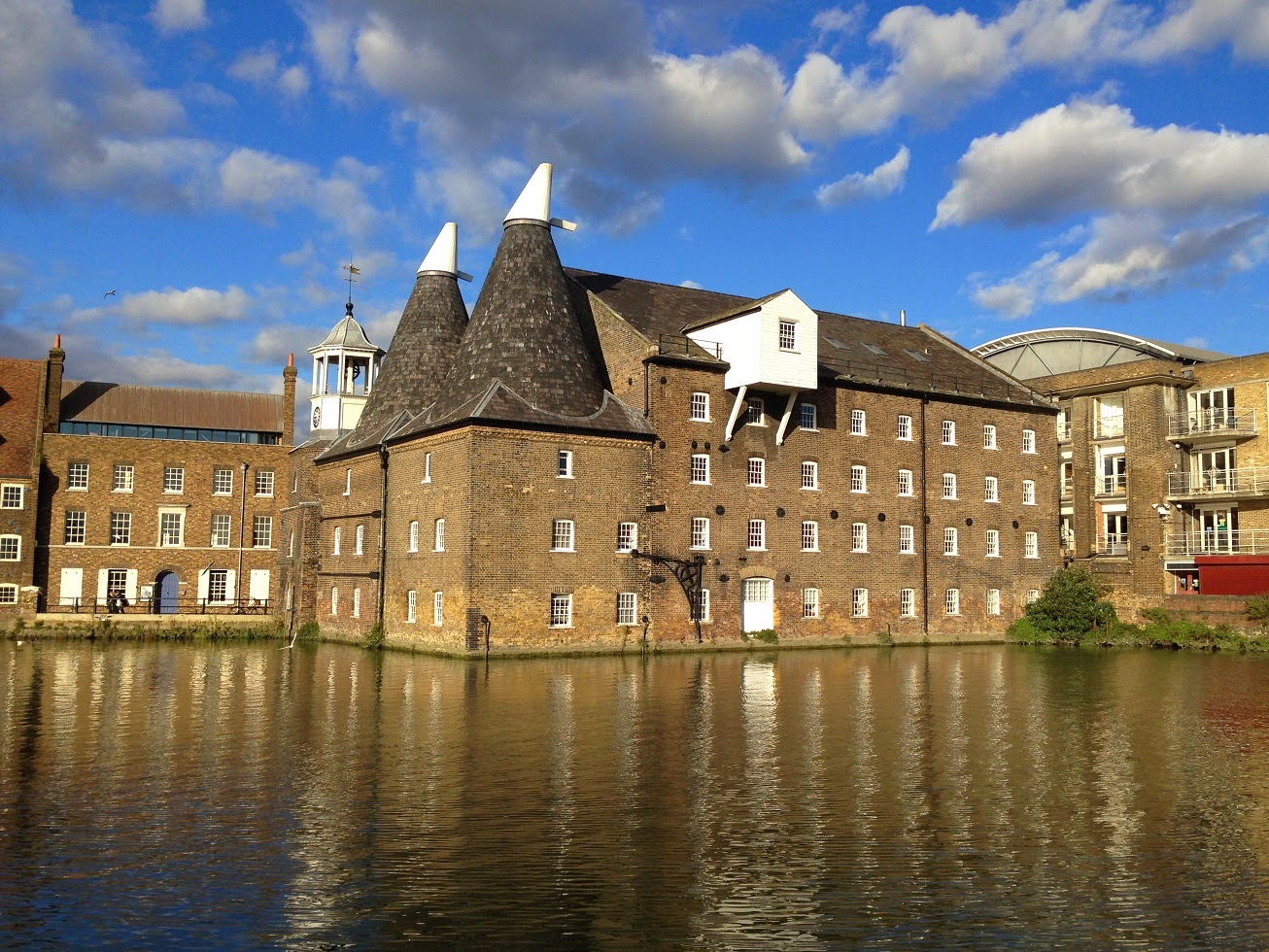 Three Mills Island, London