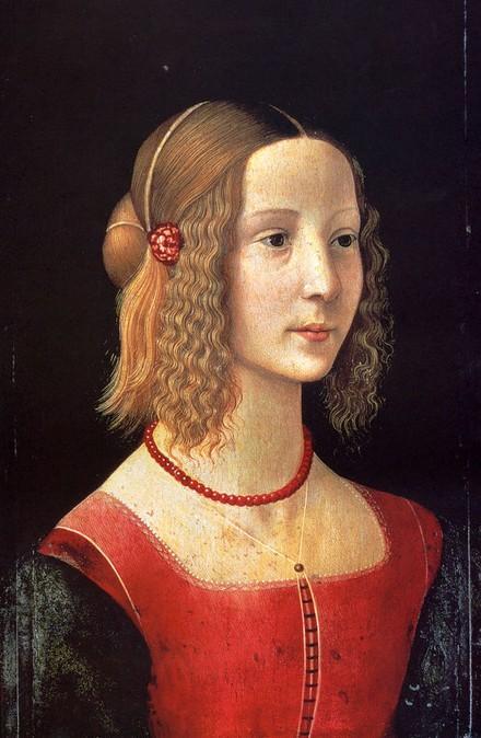 2. Técnicas y medios de la pintura y el dibujo Domenico+Ghirlandaio,+retrato+de+joven+%281449+-+1494+%29