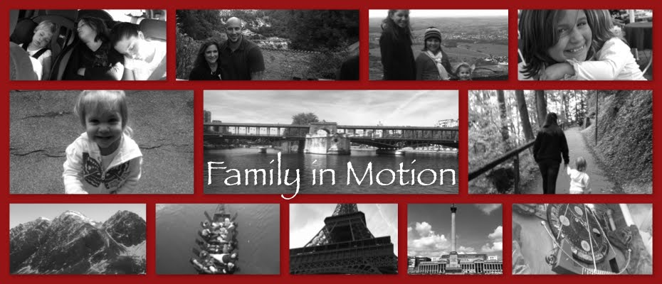 Family in motion