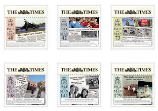 Celebrating 225 years of the Times Newspaper -www.iomstamps.com