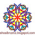 Floral shapes art designs Color Kaleidoscope 2013.