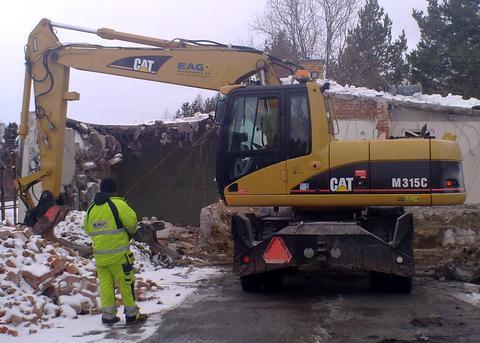 Cat M315C Hydraulic Excavator