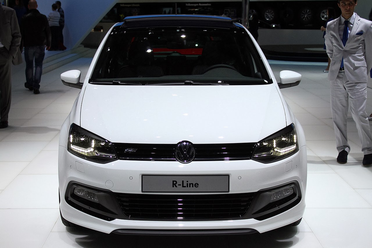 automotiveblogz volkswagen polo tsi r line geneva 2014 photos. Black Bedroom Furniture Sets. Home Design Ideas