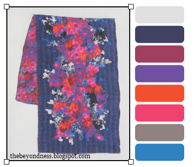 The beyondness of things color inspiration for Sophisticated color palette