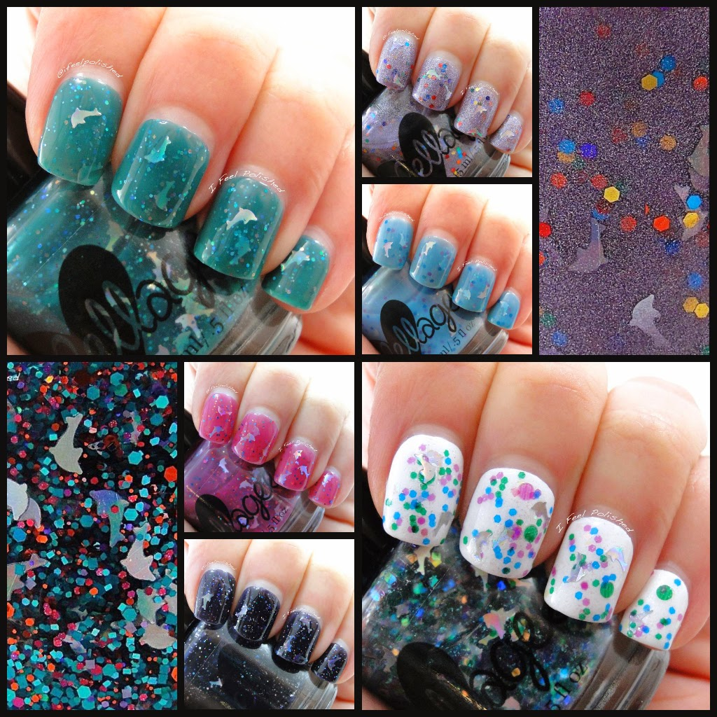 ellagee Dolphin Polishes