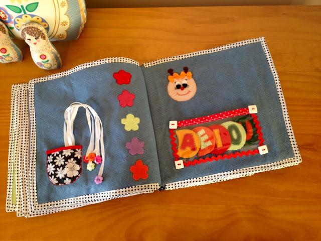 Quiet Book  - Livro interativo em feltro para atividades pedagógicas | @ateliemadrica