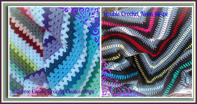 Stripe Crochet blanket