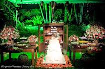Casamento rústico com verde