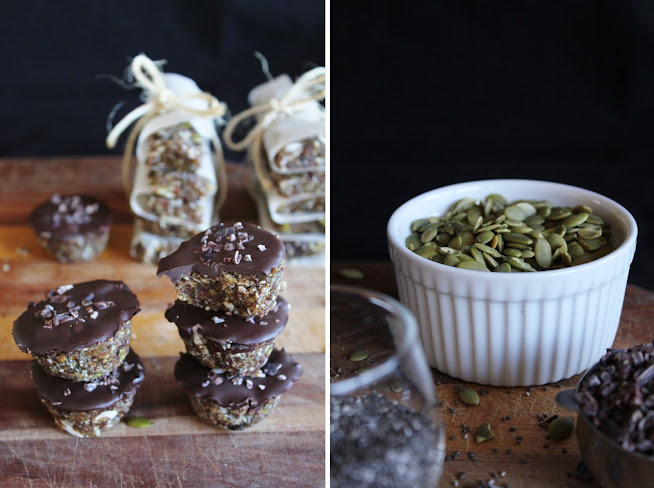 Super food energy bars with Cacao - Mito-E