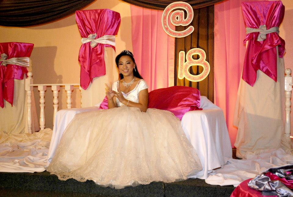 how to prepare a simple debut party