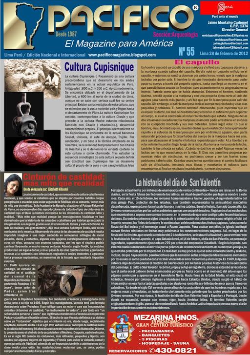 Revista Pacífico Nº 55 Arqueología