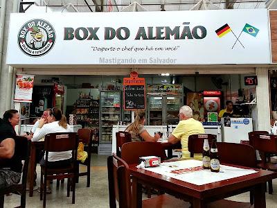 Box do Alemão: Fachada