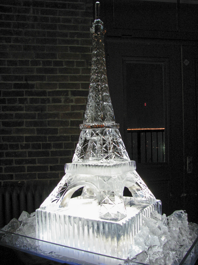 8.) More like, the Icel Tower. - Amazing Ice Sculptures That Put Edward Scissorhands To Shame.