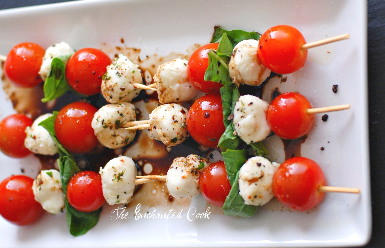 Rosemary Mozzarella Skewers Recipes — Dishmaps
