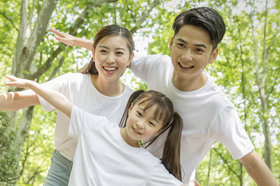 Gia đình anh Thanh